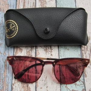 RayBan RB3576N BLAZE CLUBMASTER Sunglasses/OLZ450